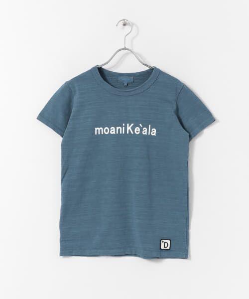 URBAN RESEARCH DOORS / アーバンリサーチ ドアーズ Tシャツ | melelana 半袖Tシャツ(ブルー)