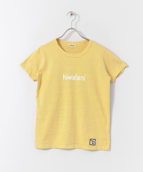 URBAN RESEARCH DOORS / アーバンリサーチ ドアーズ Tシャツ | melelana 半袖Tシャツ(イエロー)