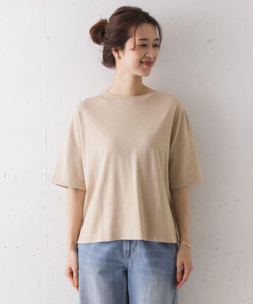URBAN RESEARCH DOORS / アーバンリサーチ ドアーズ Tシャツ   コットンヘンプワイドTシャツ   詳細18