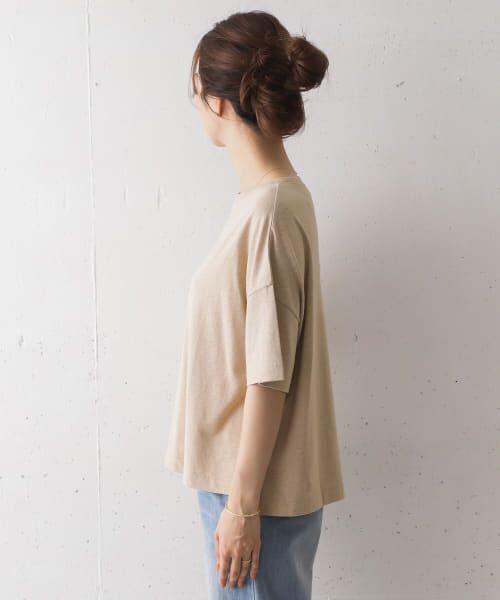 URBAN RESEARCH DOORS / アーバンリサーチ ドアーズ Tシャツ   コットンヘンプワイドTシャツ   詳細19