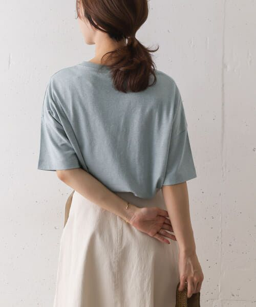 URBAN RESEARCH DOORS / アーバンリサーチ ドアーズ Tシャツ   コットンヘンプワイドTシャツ   詳細2