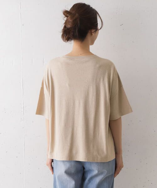 URBAN RESEARCH DOORS / アーバンリサーチ ドアーズ Tシャツ   コットンヘンプワイドTシャツ   詳細20
