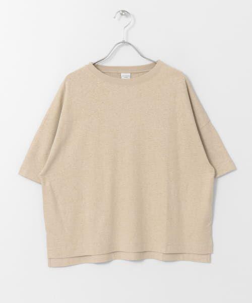 URBAN RESEARCH DOORS / アーバンリサーチ ドアーズ Tシャツ   コットンヘンプワイドTシャツ   詳細21