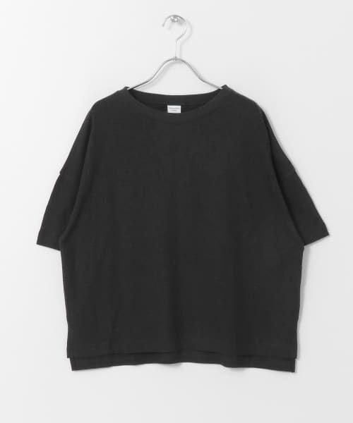 URBAN RESEARCH DOORS / アーバンリサーチ ドアーズ Tシャツ   コットンヘンプワイドTシャツ   詳細22
