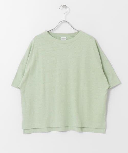 URBAN RESEARCH DOORS / アーバンリサーチ ドアーズ Tシャツ   コットンヘンプワイドTシャツ   詳細23