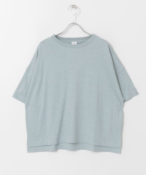URBAN RESEARCH DOORS / アーバンリサーチ ドアーズ Tシャツ   コットンヘンプワイドTシャツ   詳細25