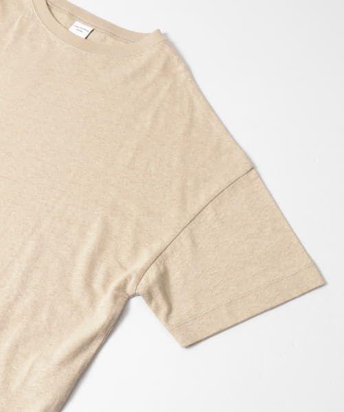 URBAN RESEARCH DOORS / アーバンリサーチ ドアーズ Tシャツ   コットンヘンプワイドTシャツ   詳細26