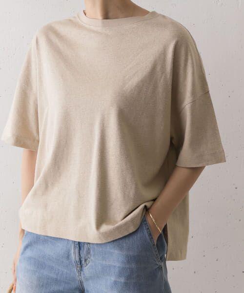 URBAN RESEARCH DOORS / アーバンリサーチ ドアーズ Tシャツ   コットンヘンプワイドTシャツ   詳細6