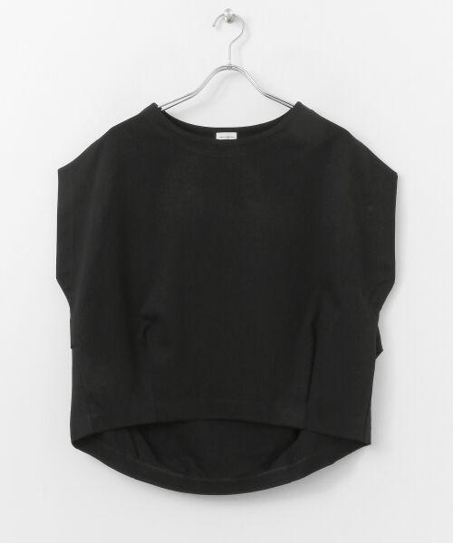 URBAN RESEARCH DOORS / アーバンリサーチ ドアーズ Tシャツ | フレンチスリーブバックタックプルオーバー | 詳細19