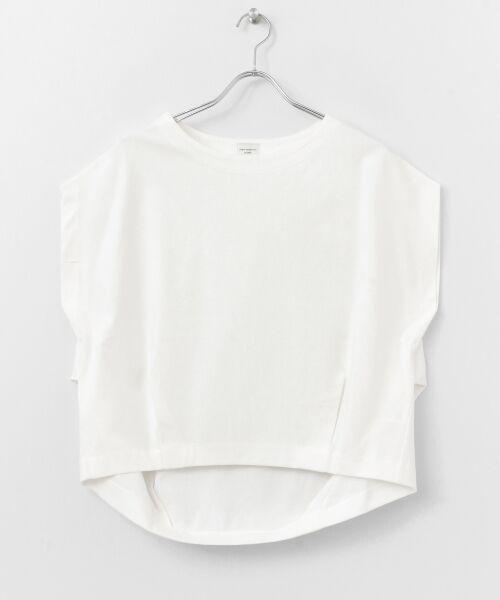 URBAN RESEARCH DOORS / アーバンリサーチ ドアーズ Tシャツ | フレンチスリーブバックタックプルオーバー | 詳細20