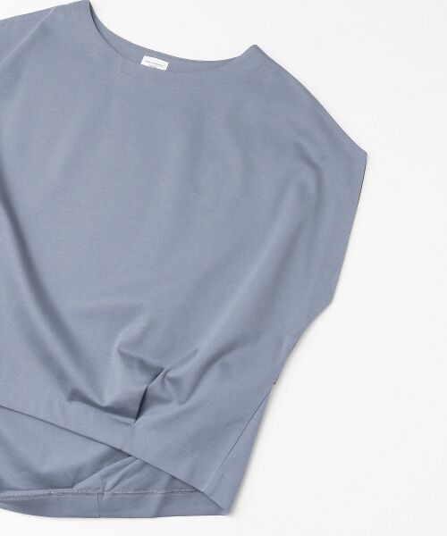 URBAN RESEARCH DOORS / アーバンリサーチ ドアーズ Tシャツ | フレンチスリーブバックタックプルオーバー | 詳細21