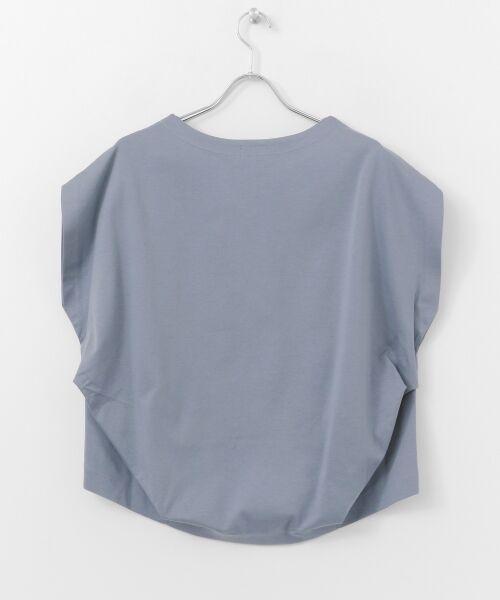 URBAN RESEARCH DOORS / アーバンリサーチ ドアーズ Tシャツ | フレンチスリーブバックタックプルオーバー | 詳細22