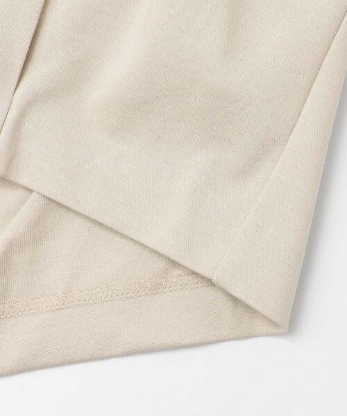 URBAN RESEARCH DOORS / アーバンリサーチ ドアーズ Tシャツ | フレンチスリーブバックタックプルオーバー | 詳細24