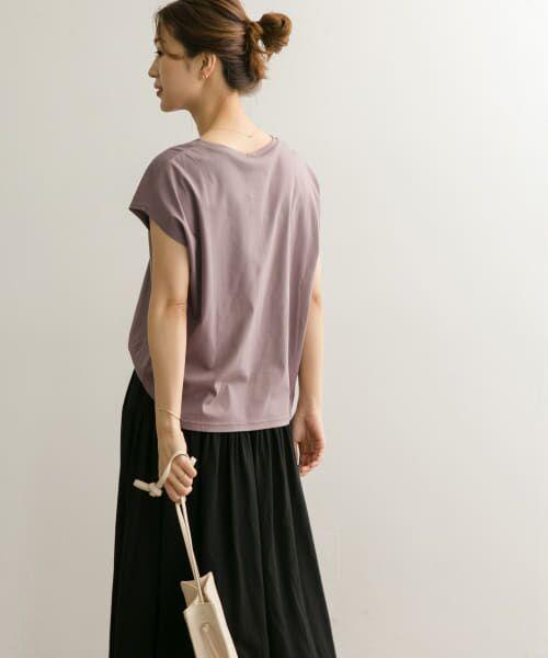 URBAN RESEARCH DOORS / アーバンリサーチ ドアーズ Tシャツ | コットンフレンチスリーブカットソー | 詳細21