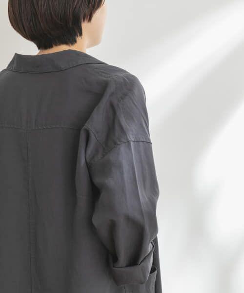 URBAN RESEARCH DOORS / アーバンリサーチ ドアーズ その他アウター | FORK&SPOON リネンガウン | 詳細29