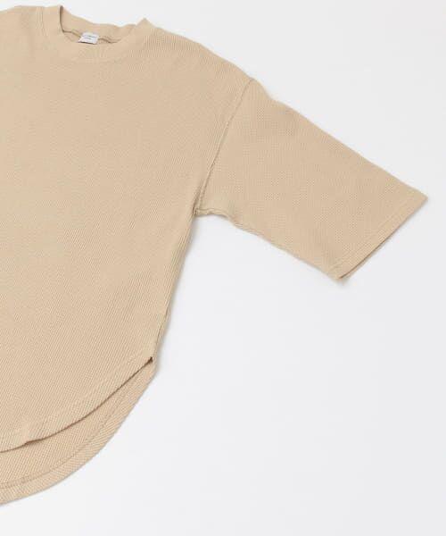 URBAN RESEARCH DOORS / アーバンリサーチ ドアーズ Tシャツ | ワッフルラウンドヘムプルオーバー | 詳細29