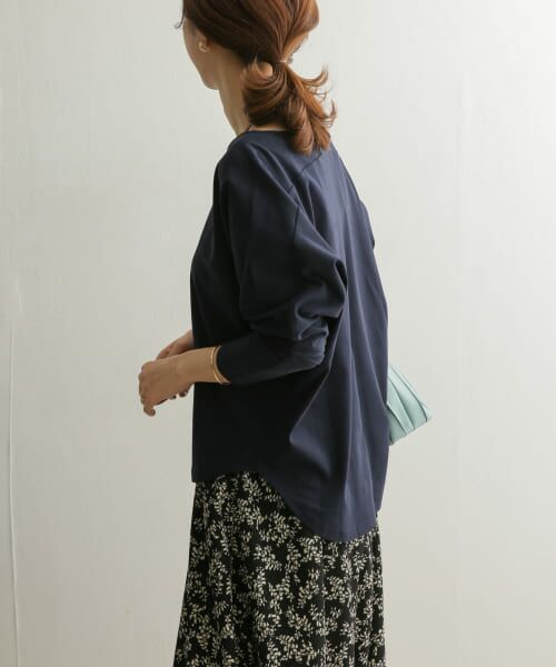 URBAN RESEARCH DOORS / アーバンリサーチ ドアーズ Tシャツ   Vネックドルマンカットソー   詳細18
