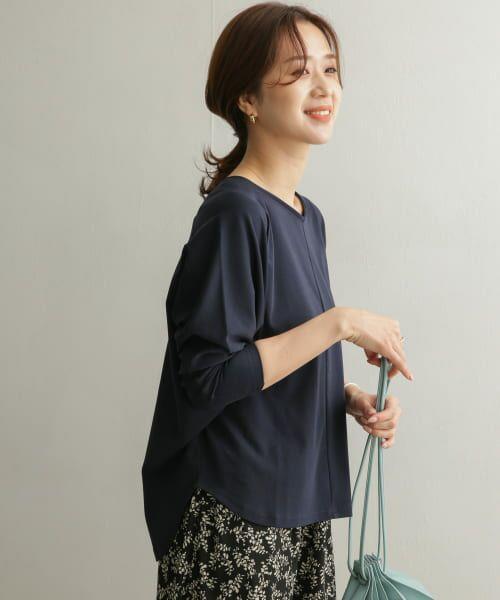 URBAN RESEARCH DOORS / アーバンリサーチ ドアーズ Tシャツ   Vネックドルマンカットソー   詳細19