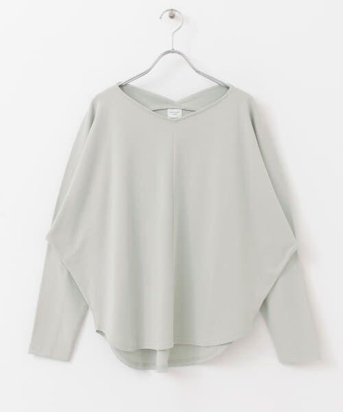 URBAN RESEARCH DOORS / アーバンリサーチ ドアーズ Tシャツ   Vネックドルマンカットソー   詳細28