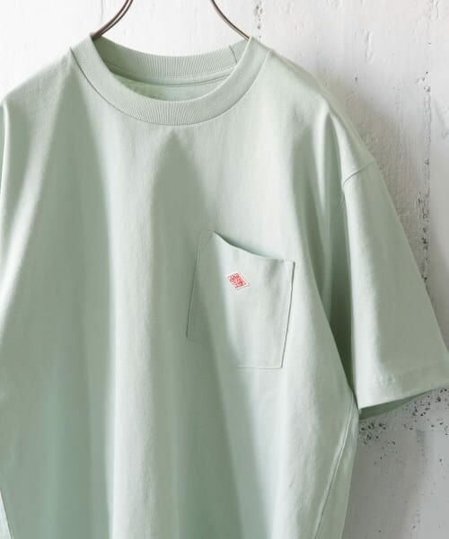 URBAN RESEARCH DOORS / アーバンリサーチ ドアーズ Tシャツ | DANTON クルーネック半袖ポケットTシャツ(DULL SAX)