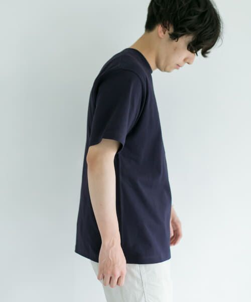URBAN RESEARCH DOORS / アーバンリサーチ ドアーズ Tシャツ | DANTON クルーネック半袖ポケットTシャツ | 詳細1