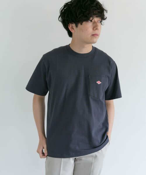 URBAN RESEARCH DOORS / アーバンリサーチ ドアーズ Tシャツ | DANTON クルーネック半袖ポケットTシャツ | 詳細10