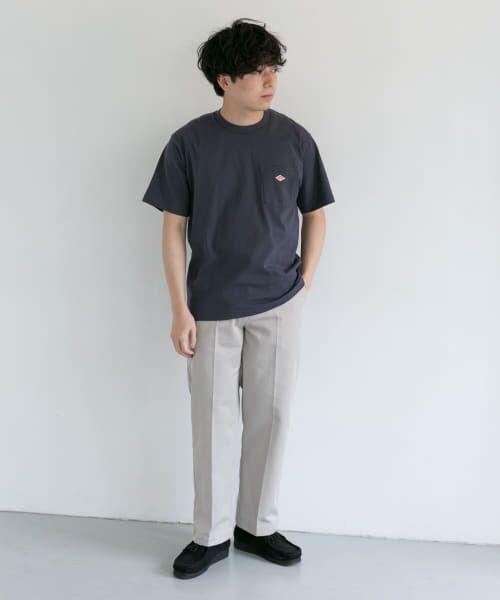 URBAN RESEARCH DOORS / アーバンリサーチ ドアーズ Tシャツ | DANTON クルーネック半袖ポケットTシャツ | 詳細11