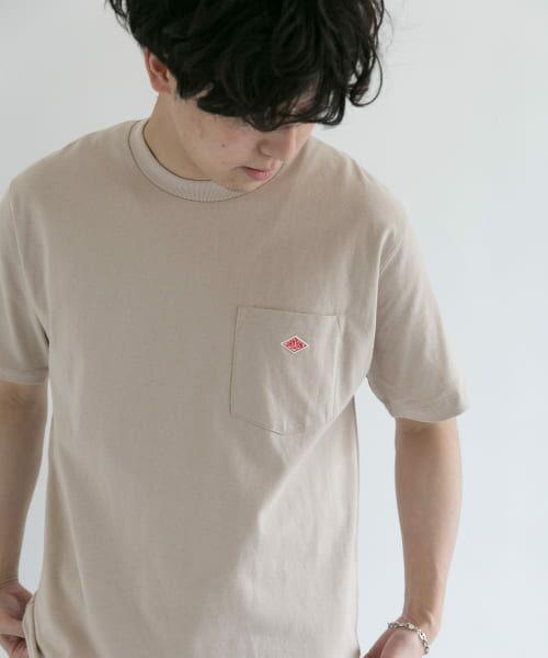 URBAN RESEARCH DOORS / アーバンリサーチ ドアーズ Tシャツ | DANTON クルーネック半袖ポケットTシャツ | 詳細12