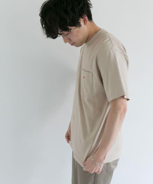 URBAN RESEARCH DOORS / アーバンリサーチ ドアーズ Tシャツ | DANTON クルーネック半袖ポケットTシャツ | 詳細13
