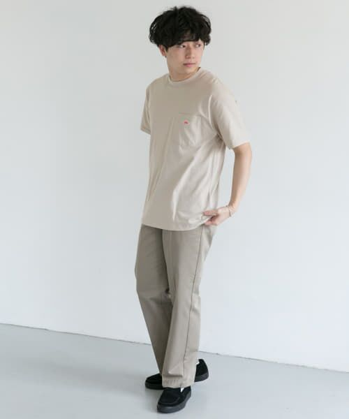 URBAN RESEARCH DOORS / アーバンリサーチ ドアーズ Tシャツ | DANTON クルーネック半袖ポケットTシャツ | 詳細14