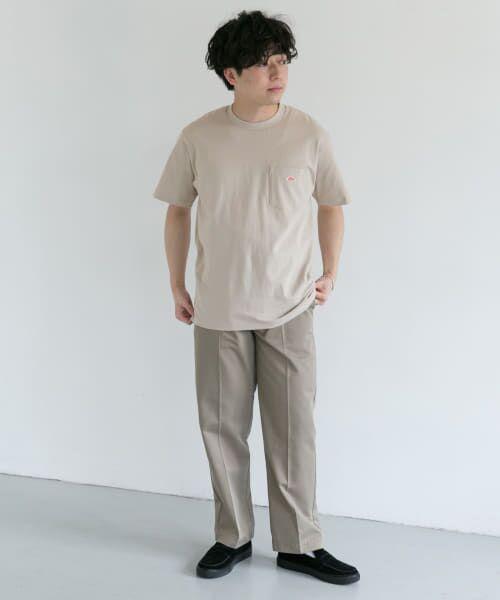 URBAN RESEARCH DOORS / アーバンリサーチ ドアーズ Tシャツ | DANTON クルーネック半袖ポケットTシャツ | 詳細15