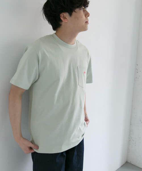 URBAN RESEARCH DOORS / アーバンリサーチ ドアーズ Tシャツ | DANTON クルーネック半袖ポケットTシャツ | 詳細16