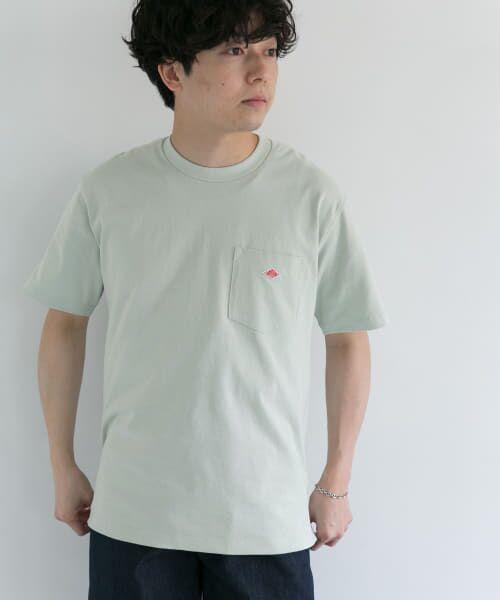 URBAN RESEARCH DOORS / アーバンリサーチ ドアーズ Tシャツ | DANTON クルーネック半袖ポケットTシャツ | 詳細17