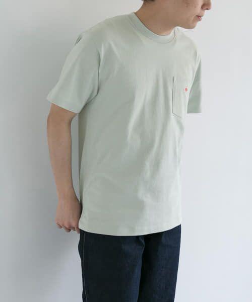 URBAN RESEARCH DOORS / アーバンリサーチ ドアーズ Tシャツ | DANTON クルーネック半袖ポケットTシャツ | 詳細18