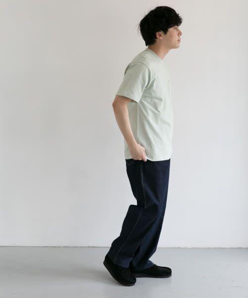 URBAN RESEARCH DOORS / アーバンリサーチ ドアーズ Tシャツ | DANTON クルーネック半袖ポケットTシャツ | 詳細19