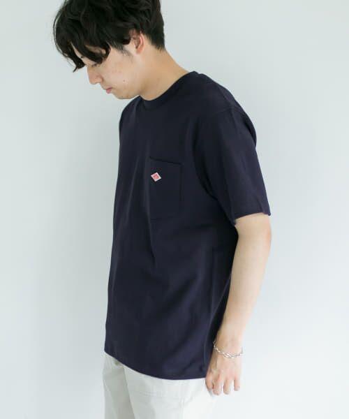 URBAN RESEARCH DOORS / アーバンリサーチ ドアーズ Tシャツ | DANTON クルーネック半袖ポケットTシャツ | 詳細2