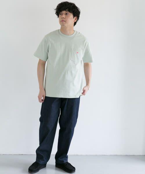 URBAN RESEARCH DOORS / アーバンリサーチ ドアーズ Tシャツ | DANTON クルーネック半袖ポケットTシャツ | 詳細20