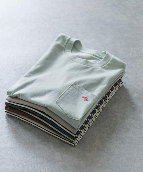 URBAN RESEARCH DOORS / アーバンリサーチ ドアーズ Tシャツ | DANTON クルーネック半袖ポケットTシャツ | 詳細21
