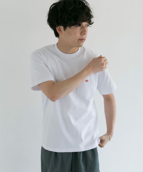 URBAN RESEARCH DOORS / アーバンリサーチ ドアーズ Tシャツ | DANTON クルーネック半袖ポケットTシャツ | 詳細22