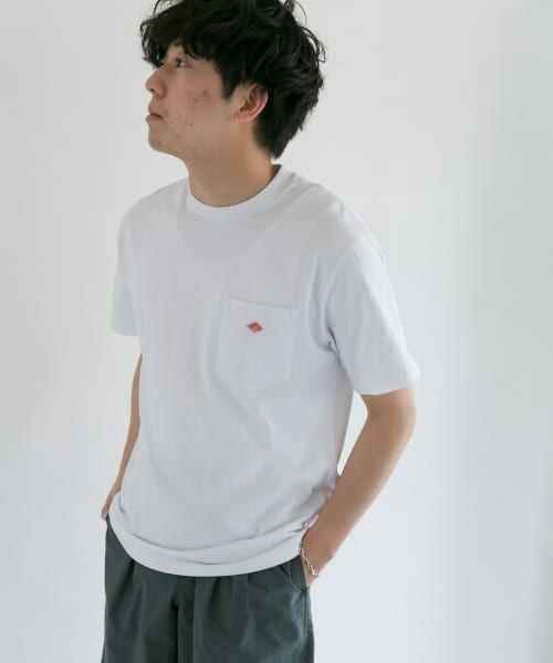 URBAN RESEARCH DOORS / アーバンリサーチ ドアーズ Tシャツ | DANTON クルーネック半袖ポケットTシャツ | 詳細23
