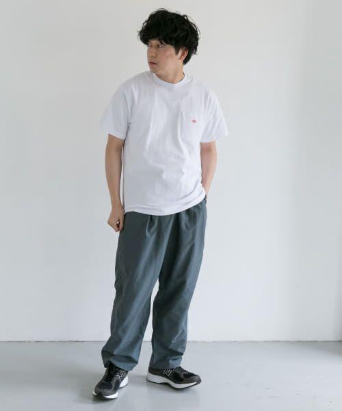 URBAN RESEARCH DOORS / アーバンリサーチ ドアーズ Tシャツ | DANTON クルーネック半袖ポケットTシャツ | 詳細24