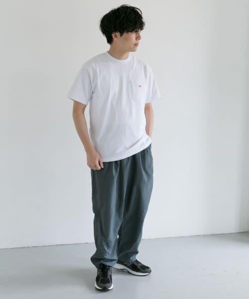 URBAN RESEARCH DOORS / アーバンリサーチ ドアーズ Tシャツ | DANTON クルーネック半袖ポケットTシャツ | 詳細25