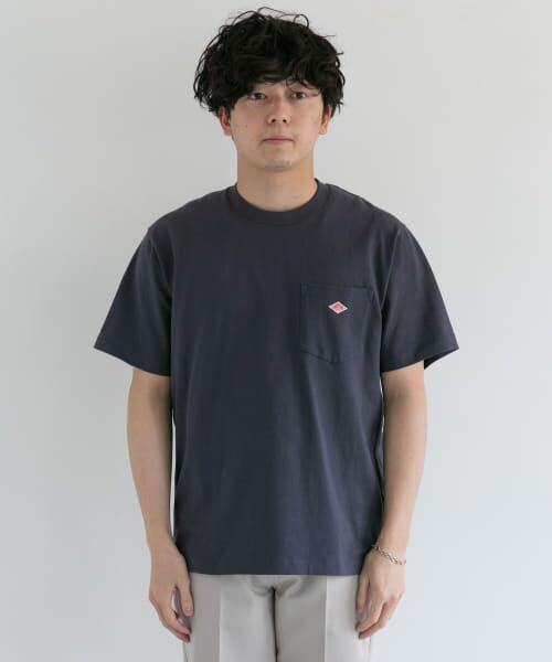 URBAN RESEARCH DOORS / アーバンリサーチ ドアーズ Tシャツ | DANTON クルーネック半袖ポケットTシャツ | 詳細26