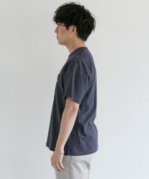 URBAN RESEARCH DOORS / アーバンリサーチ ドアーズ Tシャツ | DANTON クルーネック半袖ポケットTシャツ | 詳細27