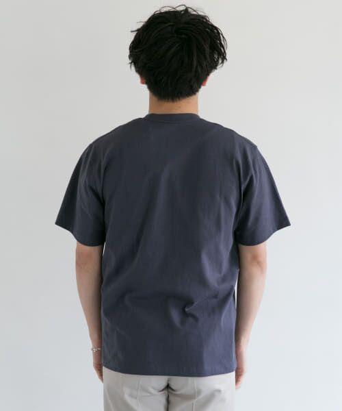 URBAN RESEARCH DOORS / アーバンリサーチ ドアーズ Tシャツ | DANTON クルーネック半袖ポケットTシャツ | 詳細28