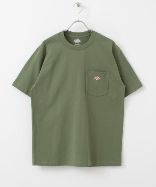 URBAN RESEARCH DOORS / アーバンリサーチ ドアーズ Tシャツ | DANTON クルーネック半袖ポケットTシャツ | 詳細30