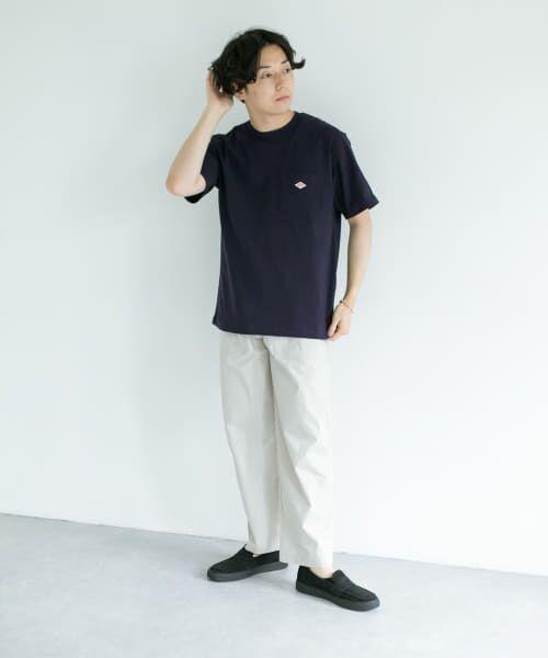 URBAN RESEARCH DOORS / アーバンリサーチ ドアーズ Tシャツ | DANTON クルーネック半袖ポケットTシャツ | 詳細5