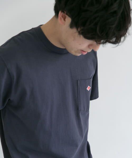URBAN RESEARCH DOORS / アーバンリサーチ ドアーズ Tシャツ | DANTON クルーネック半袖ポケットTシャツ | 詳細8
