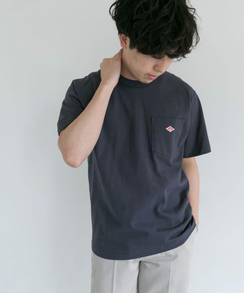 URBAN RESEARCH DOORS / アーバンリサーチ ドアーズ Tシャツ | DANTON クルーネック半袖ポケットTシャツ | 詳細9