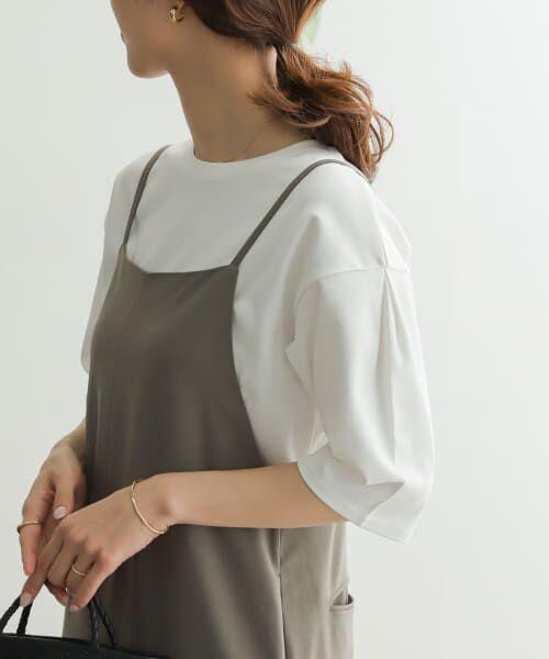 URBAN RESEARCH DOORS / アーバンリサーチ ドアーズ Tシャツ   TECHバルーンシルエットスリーブTシャツ   詳細15
